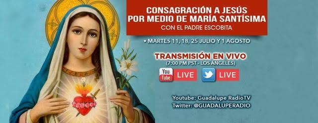 CONSAGRACION A JESUS POR MEDIO DE MARIA